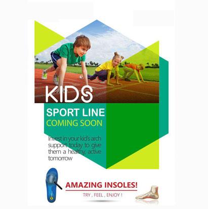 دستگاه اسکن کف پا-کفی طبی مخصوص پای کودکان - گروه تولیدی پاپیا