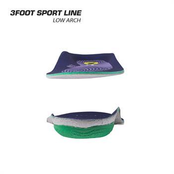 کفی طبی ورزشی متناسب با قوس کوتاه پا- Sport Low Arch